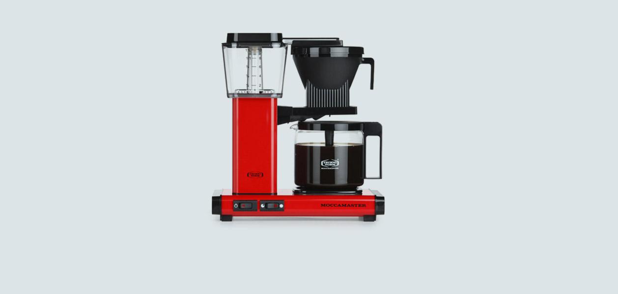 Moccamaster Kaffeemaschine - der gesunde Kaffee
