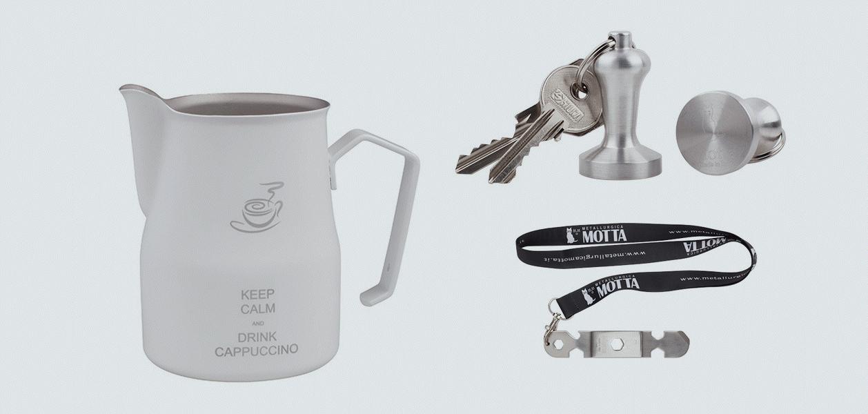 Tools für den Barista - Neue Produkte von Motta Metallurgica