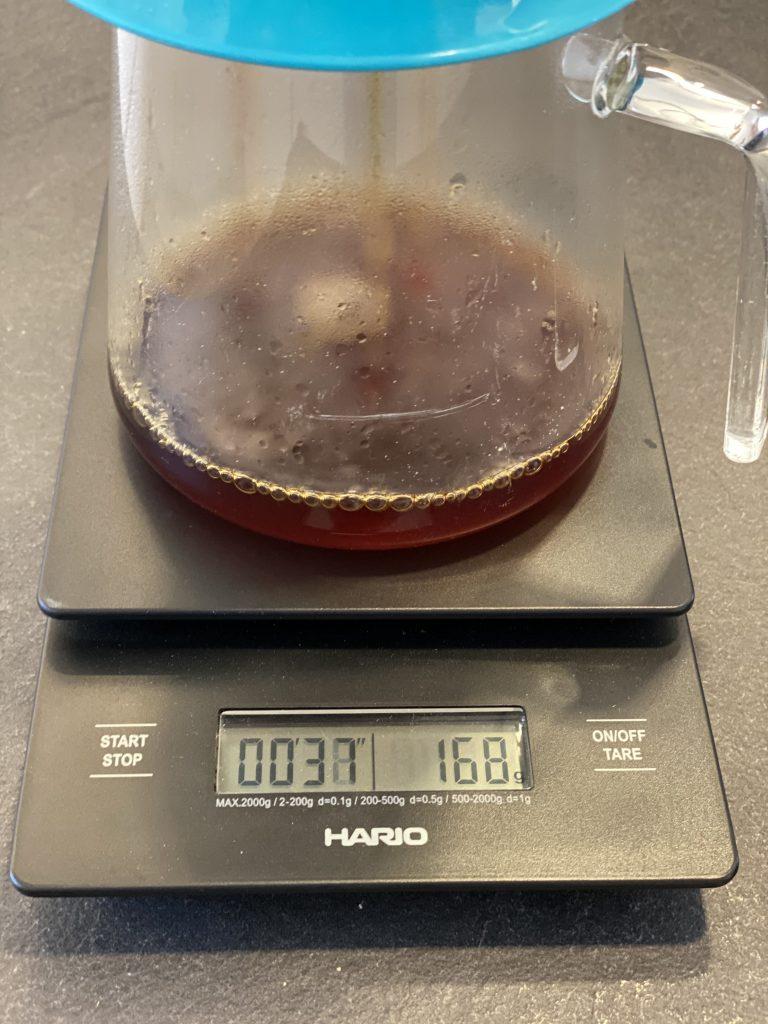 Filterkaffee mit Hario Waage zubereiten